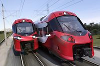 Dans sa version longue de 160 mètres, le train Coradia offre 692 places assises et 334 places assises pour sa version plus courte (80 mètres).