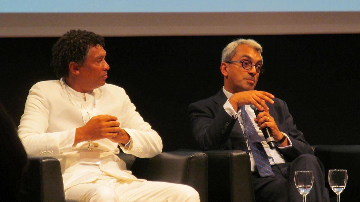 """As relações pessoais e institucionais entre Jorge Barreto Xavier (dta.) e Mário Lúcio são """"excelentes"""""""