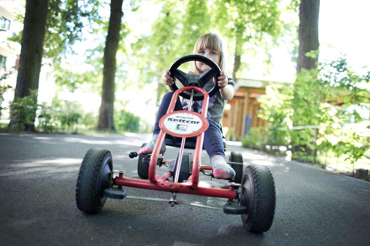 Ein Kettcar war über Generationen der Stolz der Kinder.