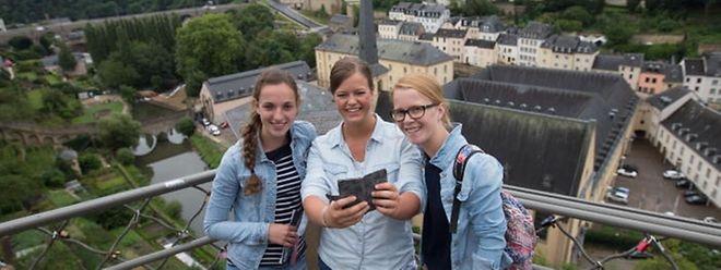 Trotz des durchwachsenen Wetters gibt es für Touristen in Luxemburg-Stadt einiges zu entdecken.