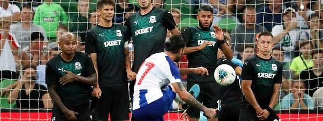 Sérgio Oliveira marcou o golo do FC Porto.