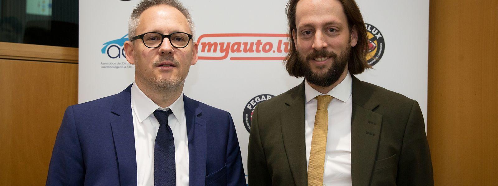 Philippe Mersch und Benji Kontz vereinigen ihre Verbände Fegarlux und ADAL.