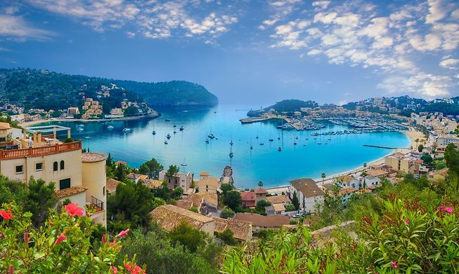 Mallorca, one of two Balearic Islands you can fly to direct from Luxembourg