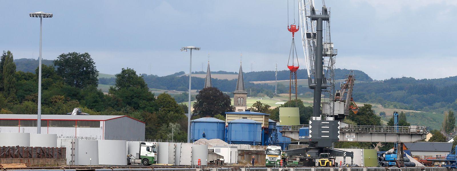 Avec la «zone portuaire 2», de nouvelles entreprises pourront s'installer au port de Mertert.