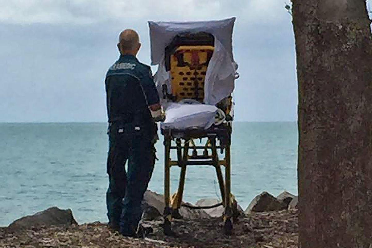 La fameuse photo du Queensland Ambulance Service est datée du 22 novembre 2017