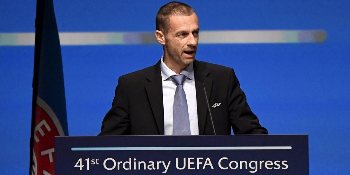 Le président de l'UEFA, Aleksander Ceferin veut montrer qu'«à l'UEFA, le dialogue social est bien une réalité»