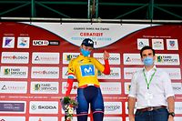 Emma Cecilie Norsgaard (DK/Movistar) übernimmt die Führung in der Gesamtwertung - Festival Elsy Jacobs - 1. Etappe Steinfort/Steinfort - Foto: Serge Waldbillig