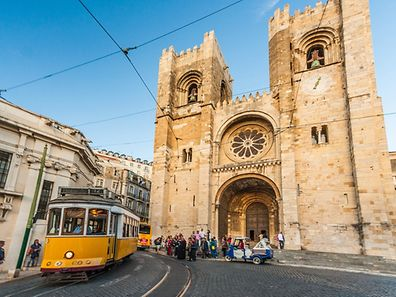 There will be four flights a week from Luxembourg to Lisbon, shown here