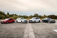 Audi A7 Sportback 55 TFSI e quattro, Audi Q5 TFSI e, Audi Q7 TFSI e, Audi A8 L 60 TFSI e