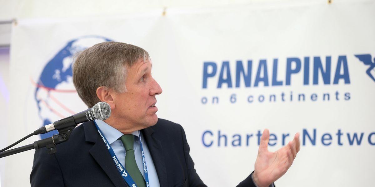 """""""Es wird intensiv an der Single Window for Logistics gearbeitet"""", so Minister François Bausch am Rande der 25-Jahr-Feier der Panalpina-Verbindung zwischen Luxemburg und Huntsville, Alabama (USA)."""