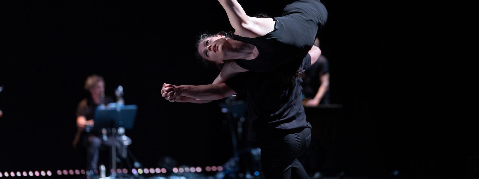 """Bei der Produktion """"3x20"""" trifft Tanz auf eigens komponierte Livemusik."""