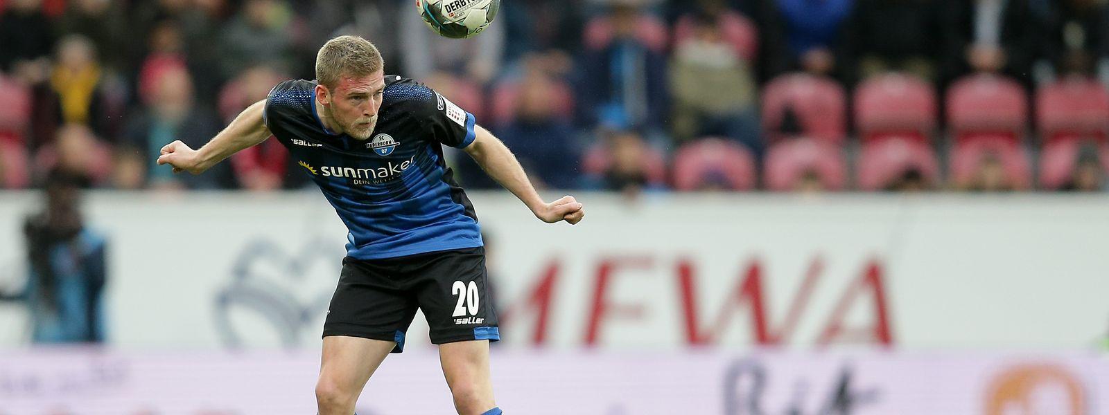 Laurent Jans kommt in der Saison 2019/2020 auf bislang 21 Bundesligaeinsätze.