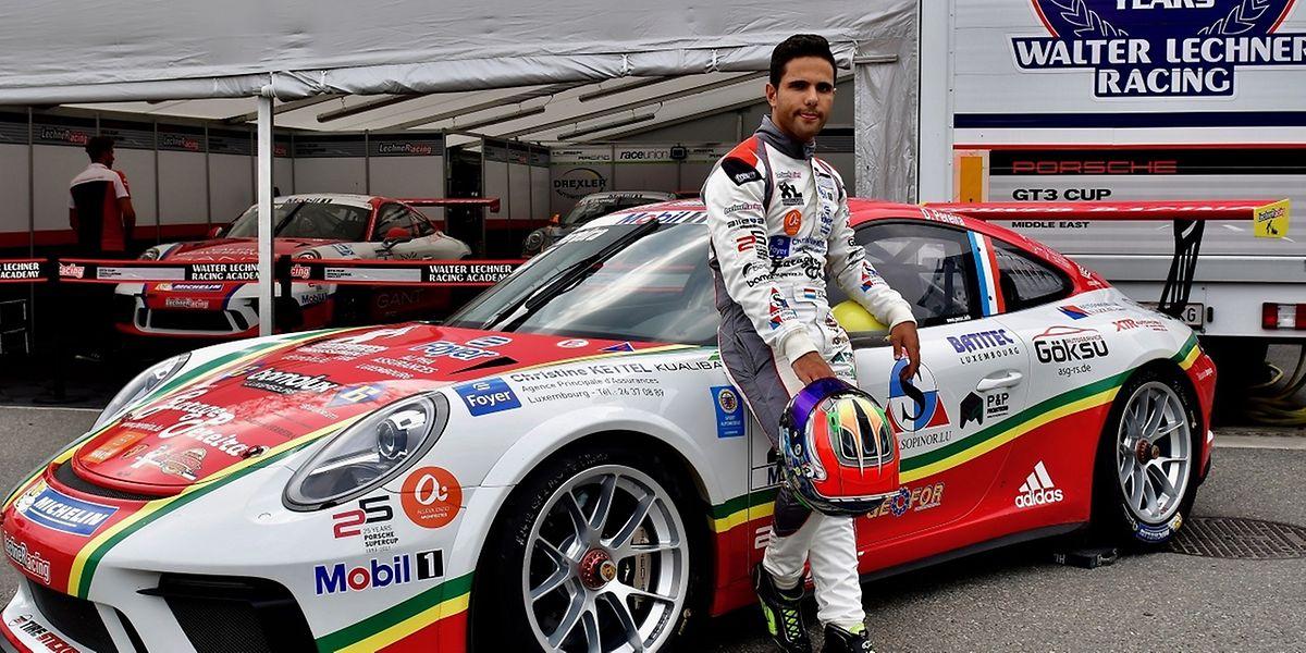 Aos 20 anos, o lusodescendente brilha nas pistas mundiais ao volante de um Porsche