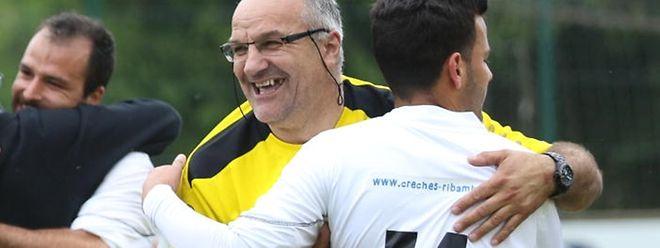 Tino Marasco est tout heureux de la qualification de l'Union Remich-Bous au détriment d'Aspelt (3-2)