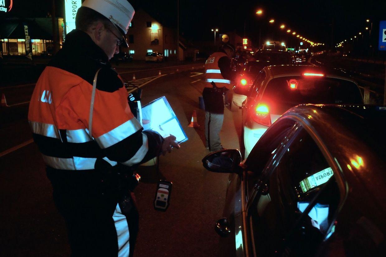 Im Anschluss an die Kavalkade in Diekirch kontrollierte die Polizei rund um Diekirch Autofahrer auf ihren Alkoholpegel.