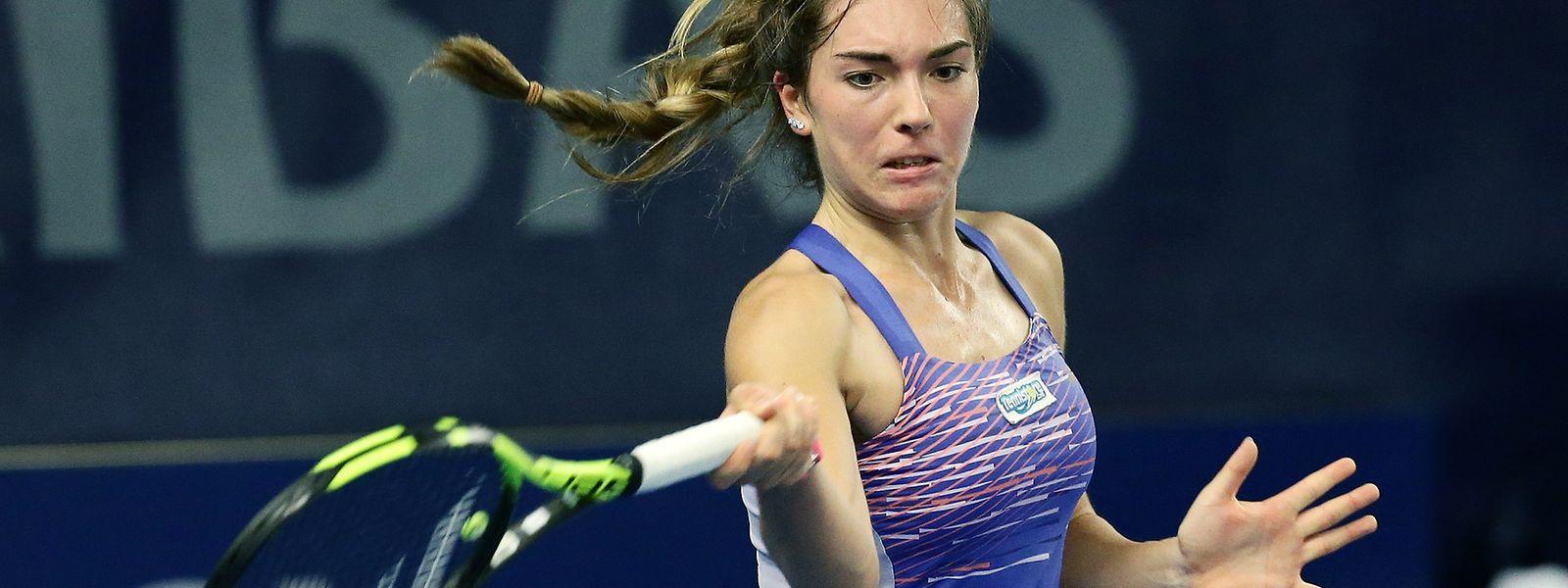 Eléonora Molinaro zeigt sich weiterhin in sehr guter Form.