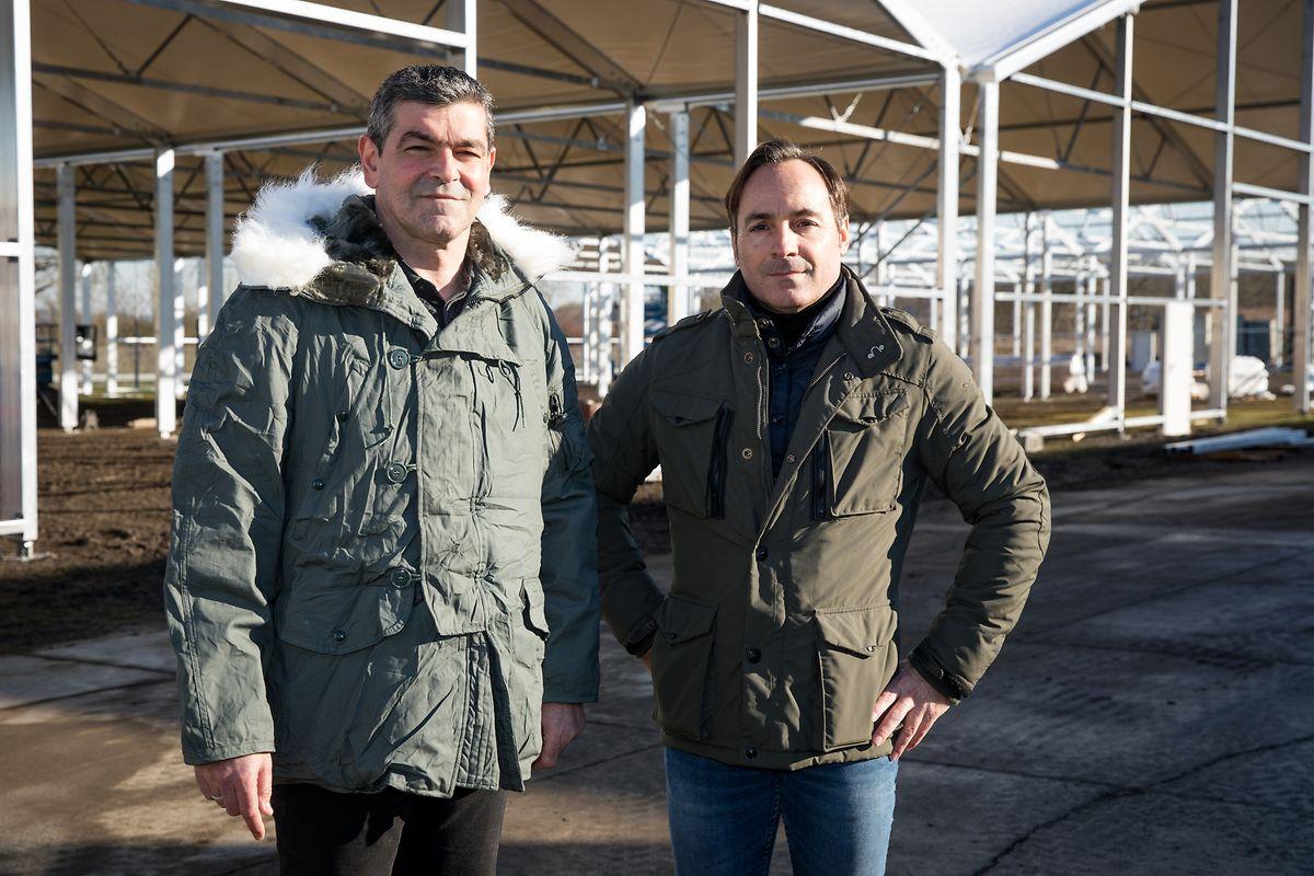 Olegario Rivero et Laurent Bodson, respectivement deputy general manager et general manager de WSA (de gauche à droite).