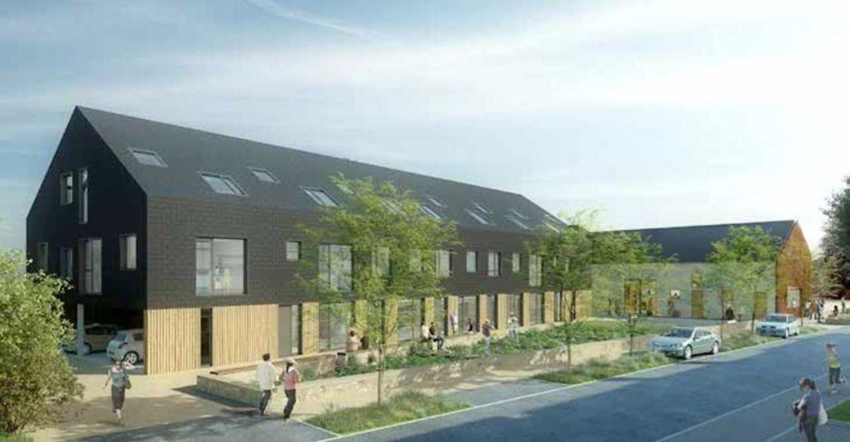 Die Wohnungen sollen in vorgefertigter Holzbauweise errichtet werden.