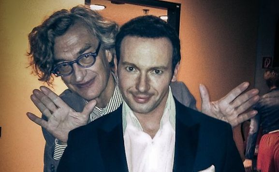 L'illusionniste et le réalisateur.