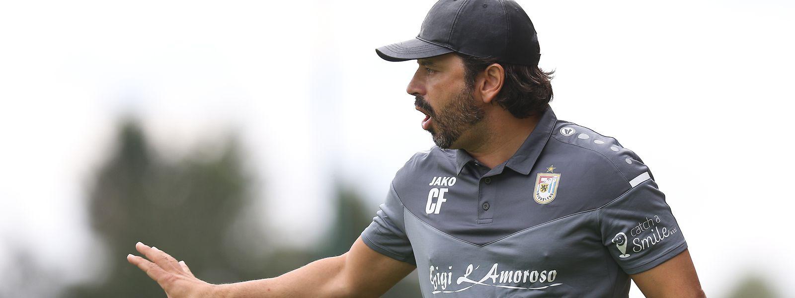 O treinador português continua a somar vitórias na Liga BGL.