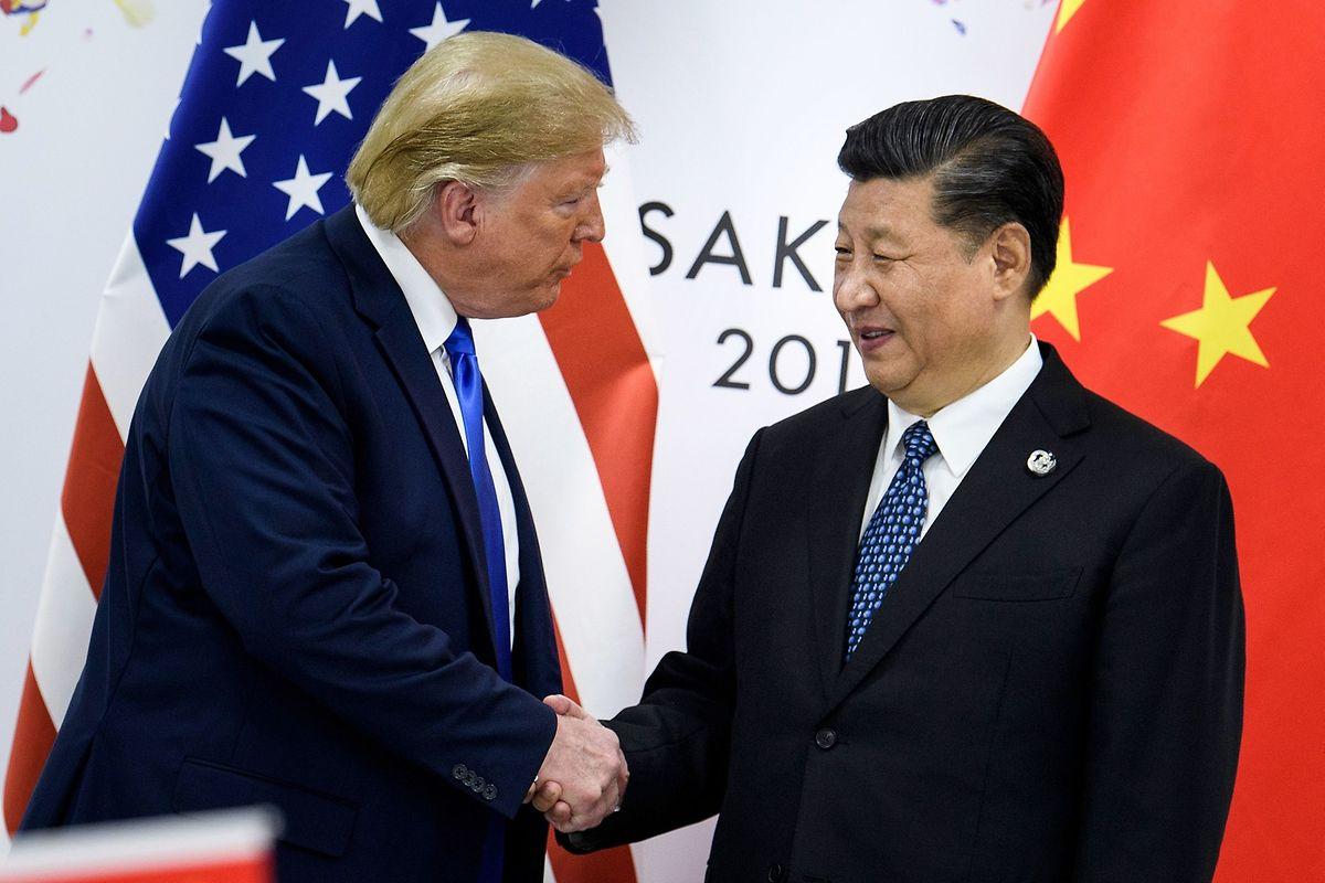 Donald Trump und Chinas Staats- und Parteichef Xi Jinping.