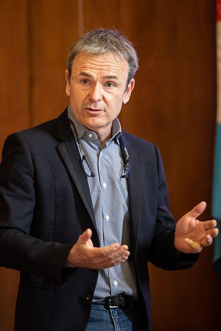 Der neue Generaldirektor René Metz.