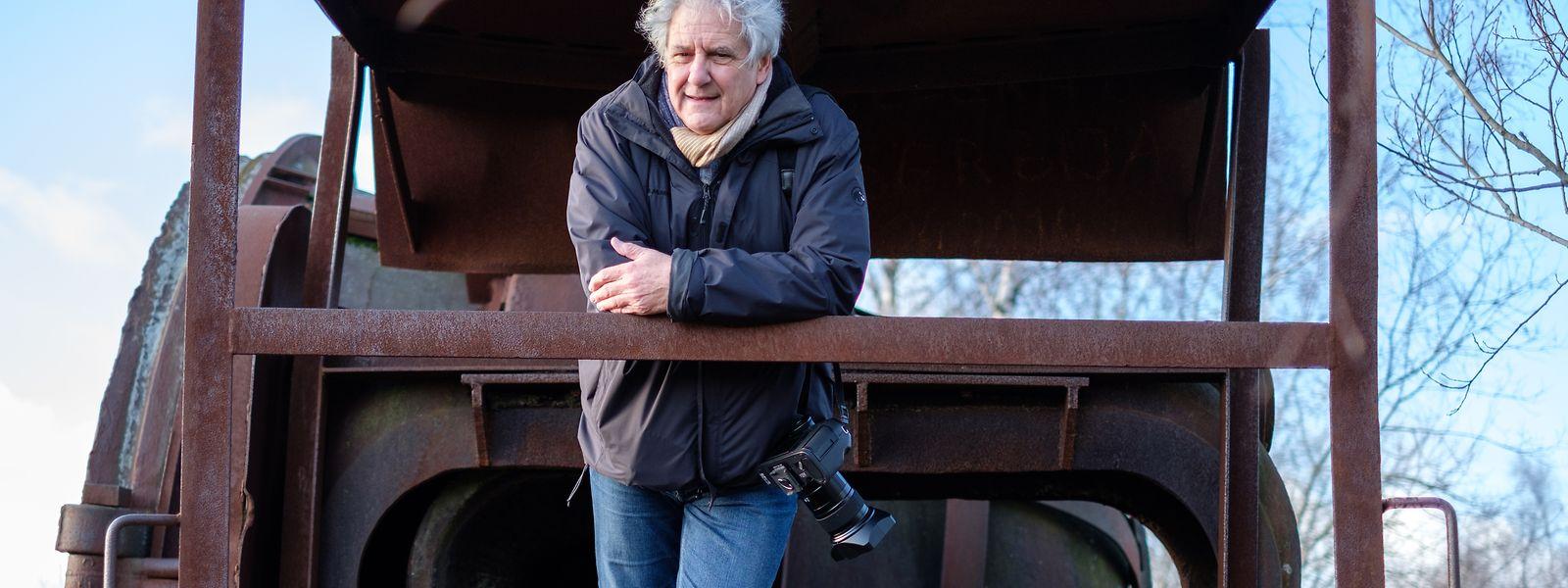 """Fotograf und Schriftsteller Jean Back über die Luxemburger Kultur: """"Den Spruch, dass die einen bei dem Begriff Kultur den Revolver ziehen und die anderen den Notizblock, an den glaube ich nicht mehr. Die Kultur hat hierzulande enorm an Wertschätzung gewonnen."""""""