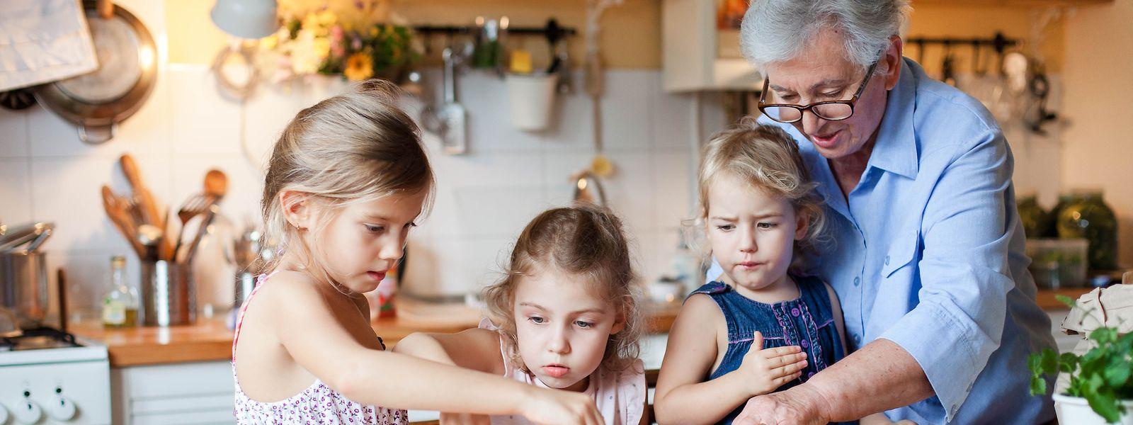 Oma wird's schon richten: In italienischen Haushalten haben die Großmütter das Zepter in der Hand.