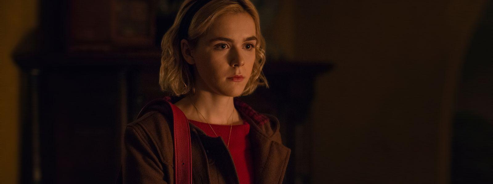 Kiernan Shipka spielt die Rolle der Sabrina Spellman.