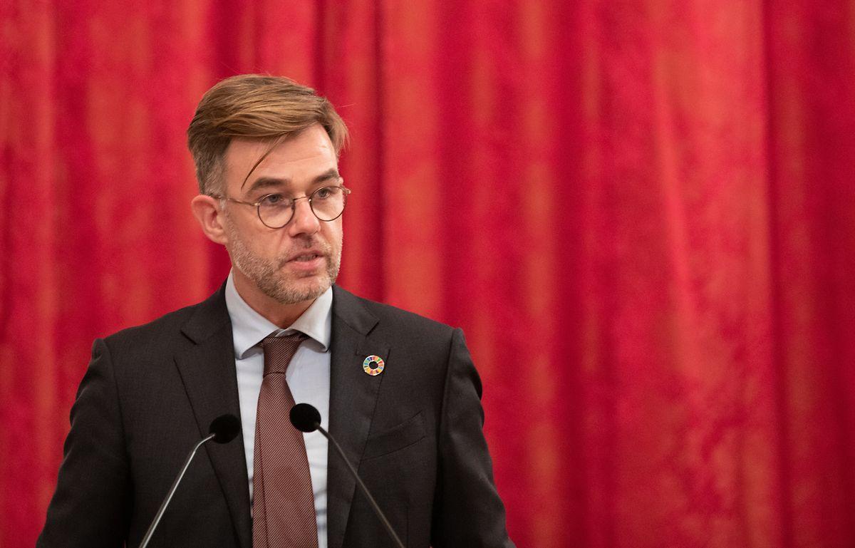 Kooperationsminister Franz Fayot hielt am Dienstag seine erste Grundsatzrede zur Entwicklungspolitik.