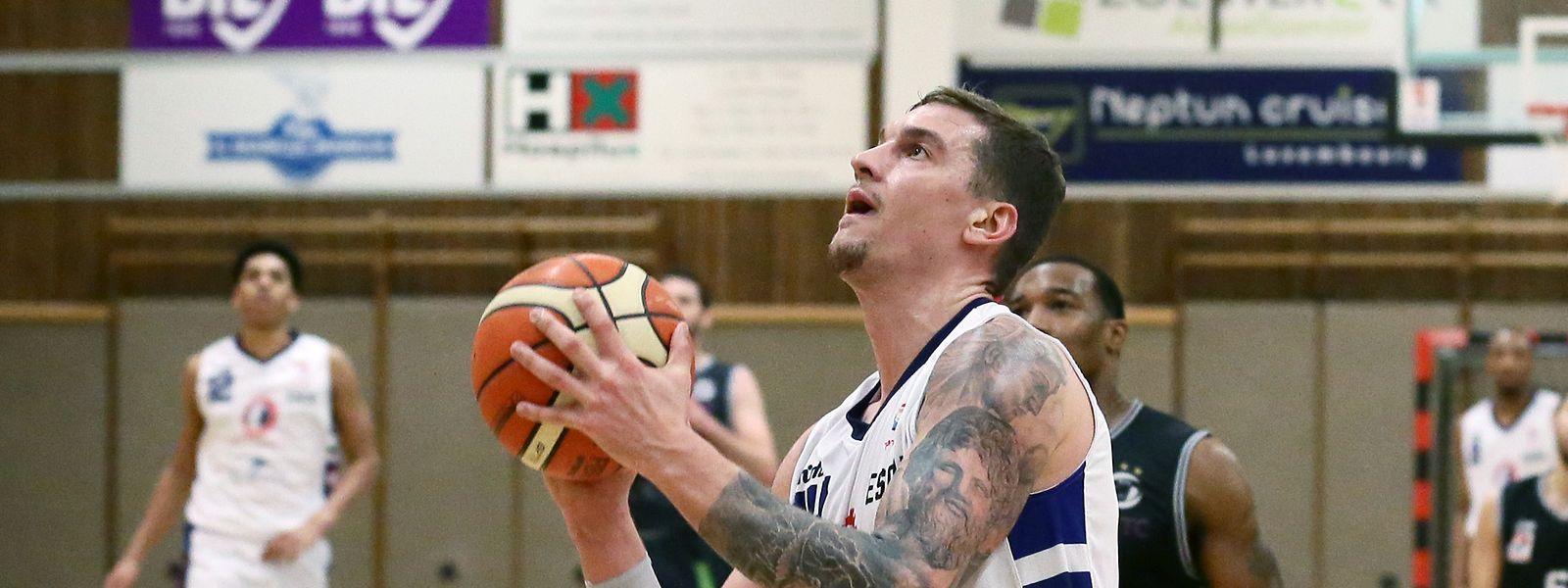 Alex Rodenbourg kann sich mit Basket Esch über den Meistertitel freuen.