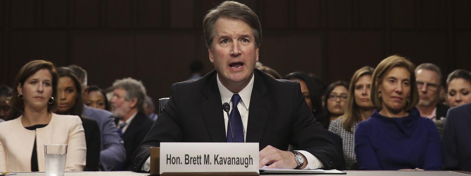 Umstritten, konservativ und möglicherweise Trumps Rettungsanker: Richter Brett Kavanaugh.