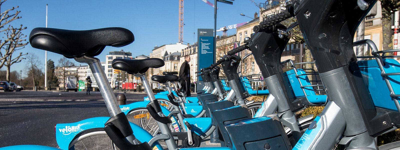 Les cartes d'assistance électrique des 1.500 vel'OH! de la Ville de Luxembourg devront être changées par JCDecaux.
