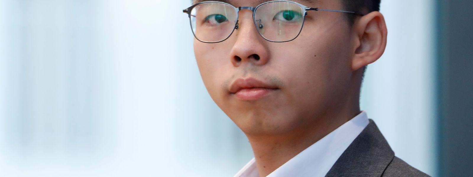 Der pro-demokratische Aktivist Joshua Wong, bedauert, dass die Möglichkeiten für eine institutionelle Lösung immer geringer werden.