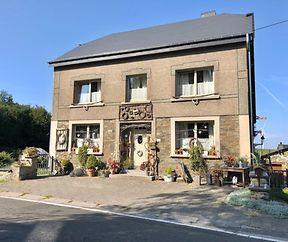 Wallonische Dekoration auf dem Dorf