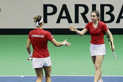 Luxemburg kennt seine Fed-Cup-Gegner