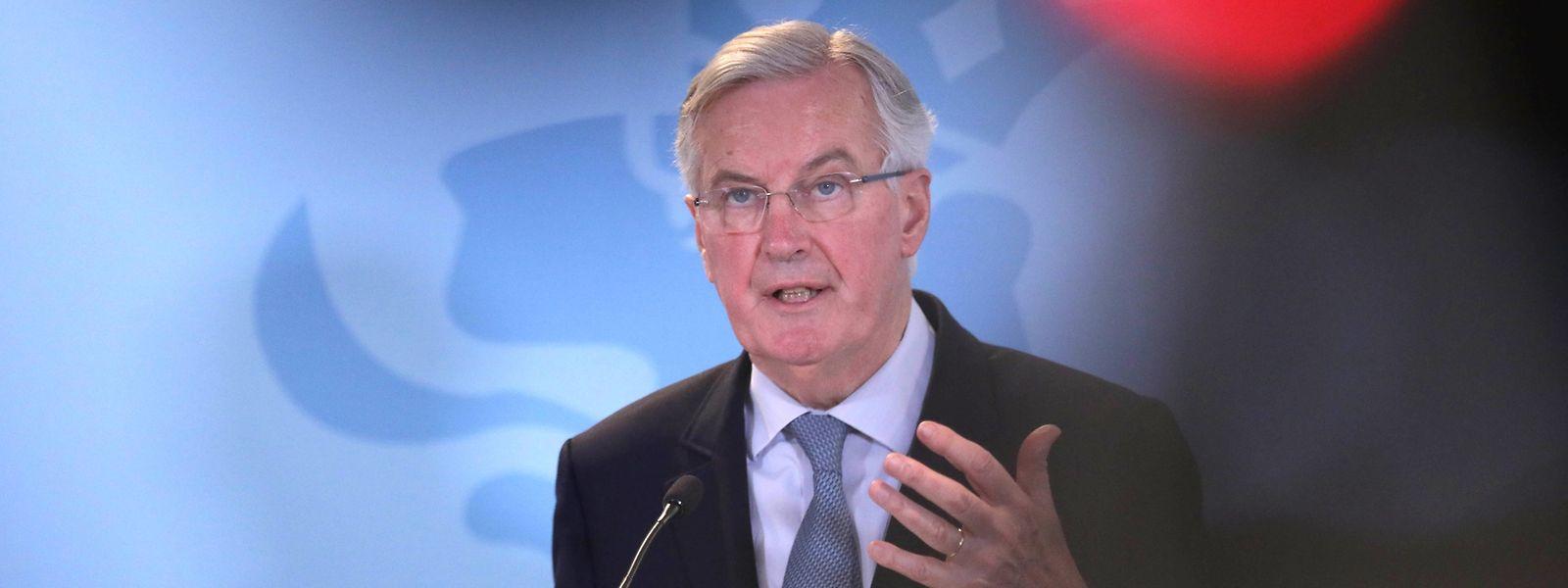Brexit-Chefunterhändler Michel Barnier ist bereit, sich die Vorschläge aus London anzuhören.