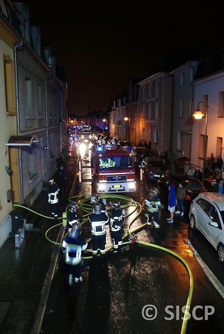 Insgesamt 31 Feuerwehrleute waren im Einsatz.