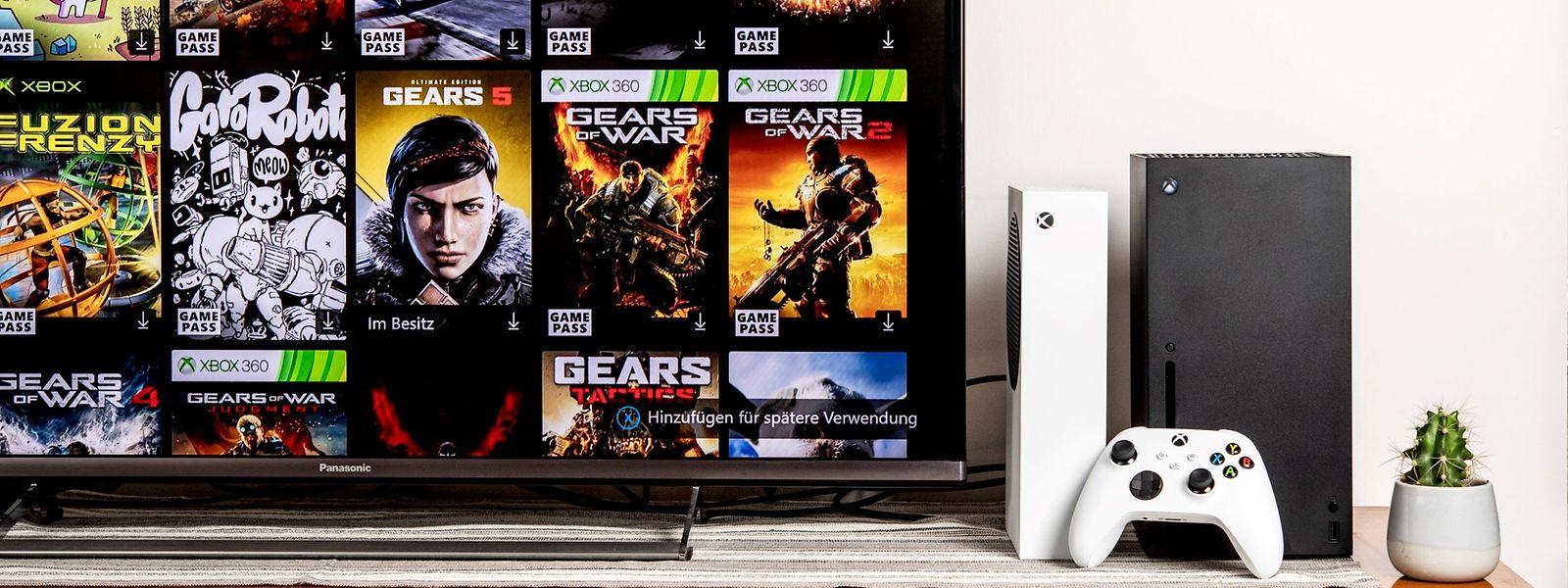 Zum Start der neuen Xbox-Konsolen stehen zwar jede Menge Spiele zur Wahl, in der Regel handelt es sich dabei aber um Titel, die auch schon für den Vorgänger Xbox One erschienen sind.