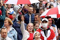 Mehr als 100.000 Menschen haben am Sonntag demonstriert.