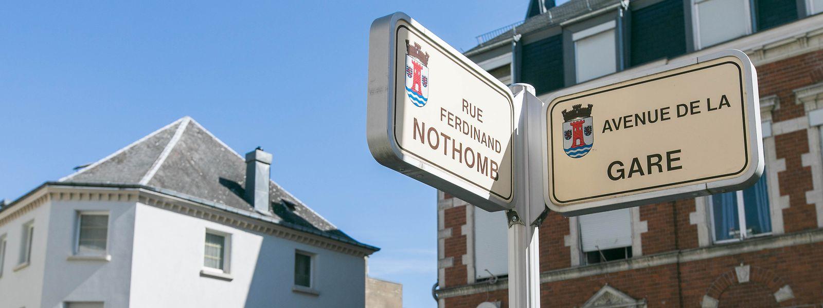 Das Ende der Avenue de la Gare in Esch/Alzette gilt als sozialer Brennpunkt.