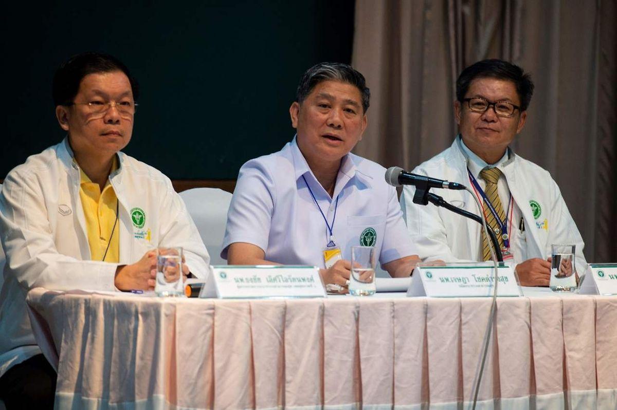 A notícia foi conformada pelas autoridades tailandesas.