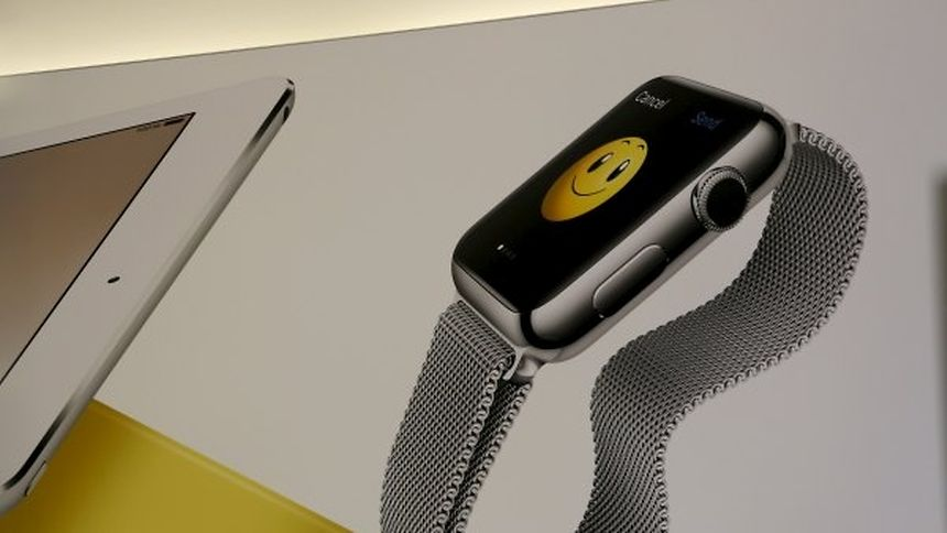Die Besucher waren neugierig, wie sich die Apple Watch verkauft. Doch dazu gab es keine Angaben.