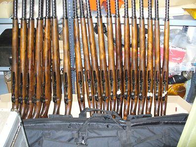 50 Gewehre hatten Polen in Luxemburg gekauft.