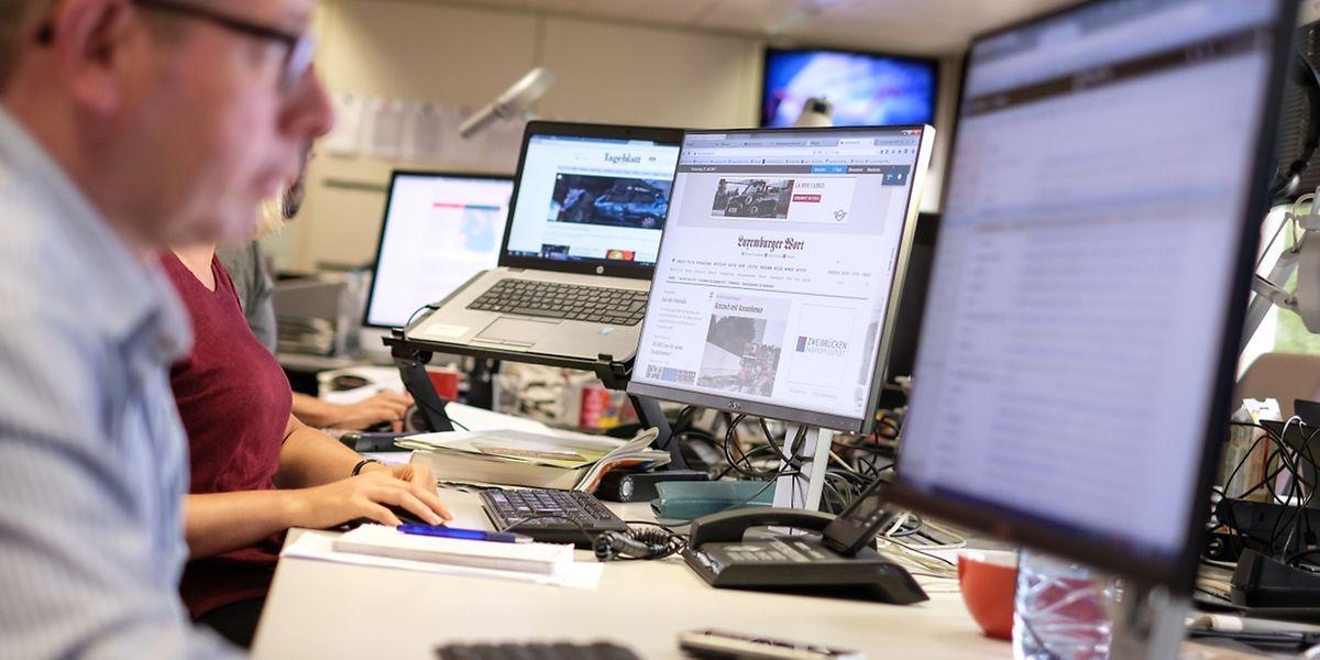 Luxemburgs Medien in der Transitionsphase: Für die nur übergangsweise geltende Pressehilfe für Onlinemedien sind beim Medienminister bisher fünf Anträge eingegangen