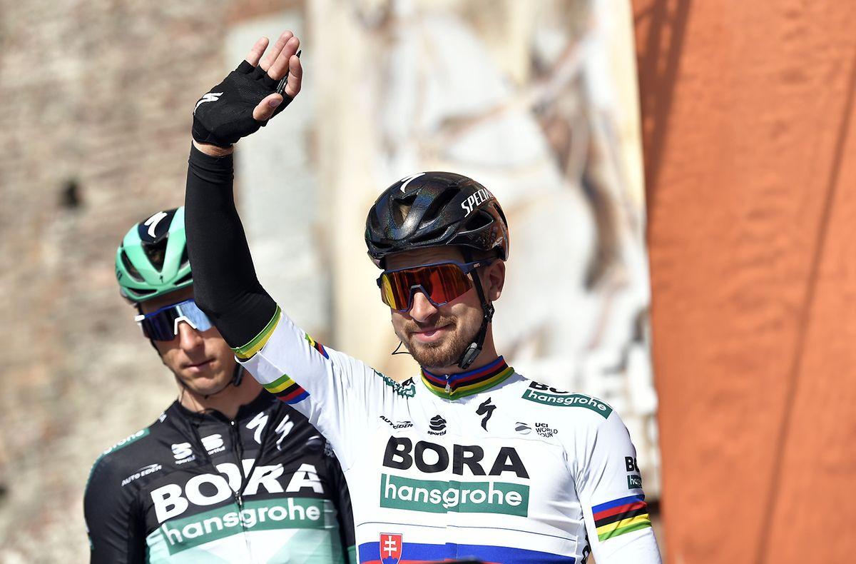 Peter Sagan a terminé quatrième.