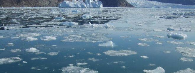 """""""Wenn unsere Kohlendioxid-Emissionen weiter wachsen wie bisher, droht ein kompletter Verlust des grönländischen Eisschildes"""", sagte PIK-Abteilungsleiter Stefan Rahmstorf. (Archiv)"""