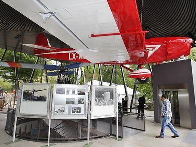 """15.06.2012 Mondorf, Eroeffnung des """"Musee de l'aviation"""""""