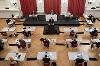 IPO , Chamber , Cercle Municipal , Neues Covid-19 Gesetz , Sars-Cov-2 , Corona , Foto:Guy Jallay/Luxemburger Wort