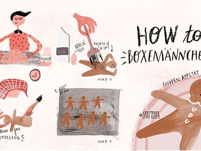 If you're the kind of person who likes to bake it yourself, take a look at Lynn's recipe for Boxemännchen